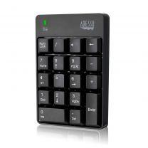 Adesso Wireless Spill Resistant 18-Key Numeric Keypad
