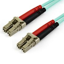 Startech 15m OM4 LC to LC Fiber Optic Patch Cable