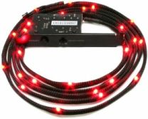 NZXT Sleeve LED Cable 1m Red