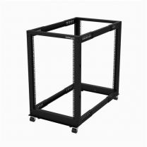 "Startech 18U Open Frame Rack 4 Post 22-40"" Adjustable Depth"