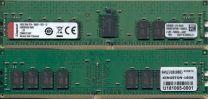 Kingston 16GB DDR4-2666 2Rx8