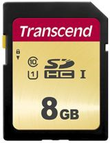 Transcend SD Card SDHC 500S 8GB