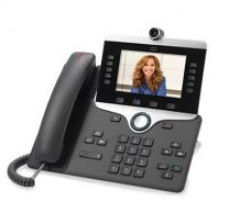 Cisco 8865 IP Phone Charcoal Wired Handset 5 lines Wi-Fi