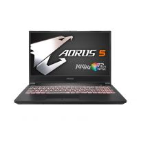 "Manufactured Refurbished Gigabyte AORUS 5,15.6"" FHD 144Hz, 10th Gen i7-10750H, 16GB RAM, 512GB SSD, GeForce GTX1660 Ti, Windows 10 Home"