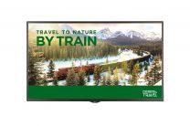 "LG Signage Display Digital Signage Flat Panel 55"" LED Full HD Black"
