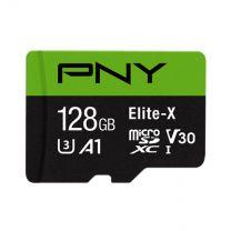 PNY Elite-X Memory Card 128GB MicroSDXC Class 10