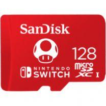 SanDisk 128GB MicroSD for Nintendo Switch