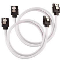 Corsair SATA Cable 0.6m Black, White