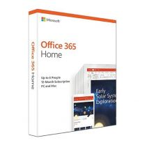 MS Office 365 Home 1 Year Subscription 2019 - Medialess Retail