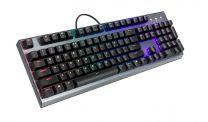 Cooler Master Gaming CK350 Keyboard USB QWERTY US English Metallic - Brown Switch