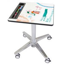 Ergotron LearnFit Whiteboard Sit-Stand Desk, Short