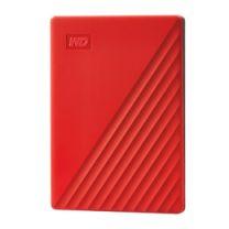 WD My PassPort External Hard Drive 4TB - Red
