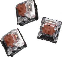 Logitech G Pro X Mechanical Switch Black, Brown 60 pc(s)