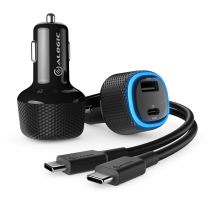 Alogic RAPID 2 Port USB-C & USB-A Car Charger