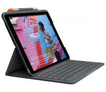 "Logitech Slim Folio Graphite Bluetooth for iPad 10.2"" 7th and 8th Gen"