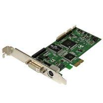 StarTech HD PCIe capture card  HDMI VGA DVI component  1080P 60 FPS