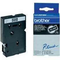 Brother 9mm White on Black TC Tape