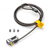 Kensington ClickSafe 3-in-1 Combination Laptop Lock