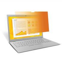 "3M GPF140W9B Gold Privacy Filter - 14"" Laptop"