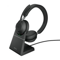Jabra Evolve2 65 MS USB-C Stero Bluetooth Headset with Charging Stand