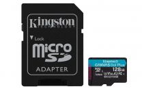 Kingston Technology Canvas Go! Plus Memory Card 128 GB MicroSD Class 10 UHS-I