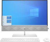 "HP Pavilion 27-d0201a 27"" Full HD All-in-One PC, Ryzen 7, 16GB RAM, 1TB SSD, Windows 10 Home - White"