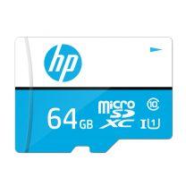HP 64GB U1 MicroSDXC UHS-I Class 10 Memory Card