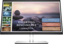 "HP E-Series E24t G4 23.8"" Full HD LCD Monitor Black, Silver"