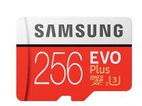 Samsung EVO Plus Memory Card 256GB MicroSDxC Class 3 UHS-I