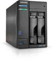 Asustor AS6602T NAS/Storage Server J4125 Ethernet LAN Tower Black