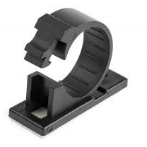 StarTech 100 Adhesive Cable Management Clips Black - Network/Ethernet/Office