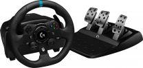 Logitech G G923 Black USB Steering Wheel + Pedals PC, Xbox