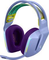 Logitech G G733 Wireless RGB Gaming Headset Head-band - Lilac