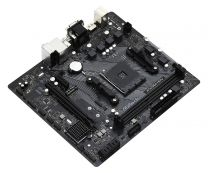 Asrock Motherboard A520M AM4 Micro-ATX 6 Phase Power Design