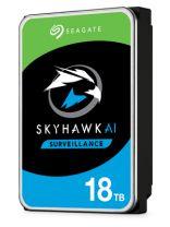 """Seagate Surveillance HDD SkyHawk AI 3.5"""" 18TB Serial ATA III"""