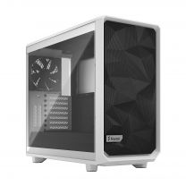 Fractal Meshify 2 White Tempered Glass Clear Tint ATX Computer Case