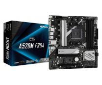 Asrock Motherboard A520M AM4 Micro ATX 8 Phase Power Design