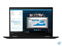 "Lenovo ThinkPad X13 Yoga Hybrid (2-in-1) 13.3"" 4G/LTE Full HD Touchscreen i5-10210U, 16GB RAM, 512GB SSD, Windows 10 Pro Black"