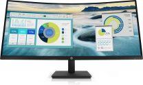 "HP P34hc G4 34"" WQuad HD Curved Eye Ease Monitor"