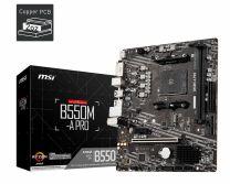 MSI Motherboard AMD B550 Socket AM4 micro ATX