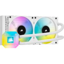 Corsair iCue H100i Elite Capellix Liquid CPU Cooler - White