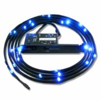 NZXT Sleeve LED Cable 1m Blue