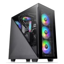 Thermaltake Divider 300 ATX Tempered Glass ARGB Midi Tower - Black