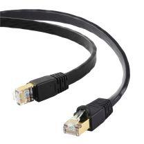 Edimax Networking Cable Black 1m Cat8 U/FTP (STP)