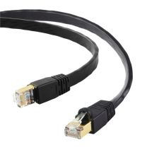 Edimax Networking Cable Black 0.5m Cat8 U/FTP