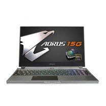 "Manufacturer Refurbished Gigabyte 15.6"" FHD Laptop, i7-10875H,16GB,512GB SSD,RTX 2060,W10H - Grey"