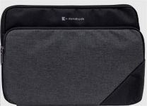"Toshiba 13.3"" Premium SlipCase/Notebook Sleeve Case Black, Grey"