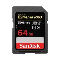 SanDisk Extreme PRO 64GB SDXC UHS-II Class 10 Memory Card