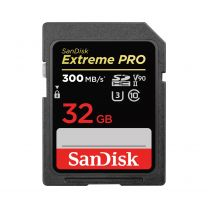 SanDisk Extreme PRO 32GB SDHC UHS-II Class 10 Memory Card