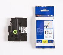 Brother TZe-FX231 Label-Making Tape Black on white
